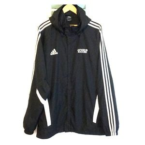Adidas Athens Soccer Hooded Windbreaker 2XL